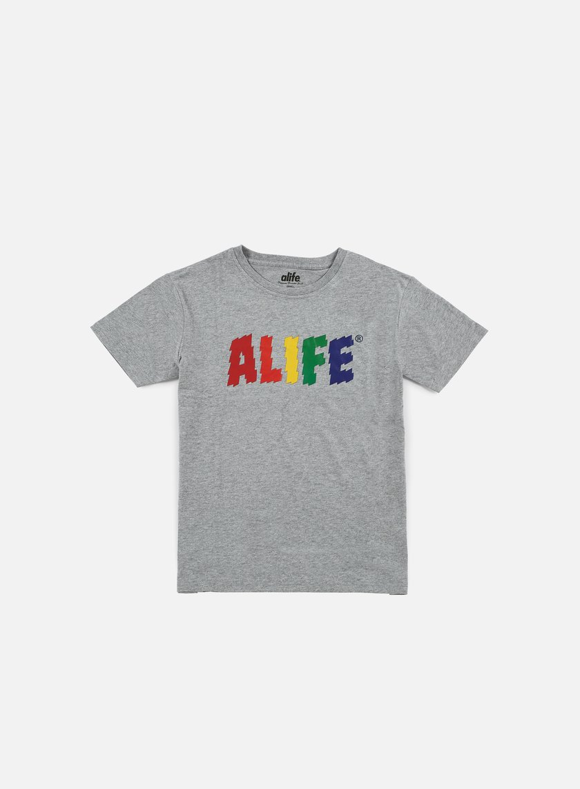 Alife - Electric Life T-shirt, Heather Grey
