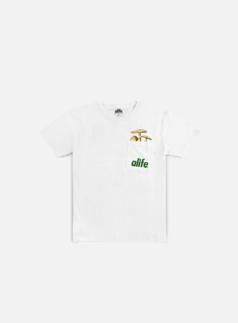t shirt alife patch pocket t shirt white