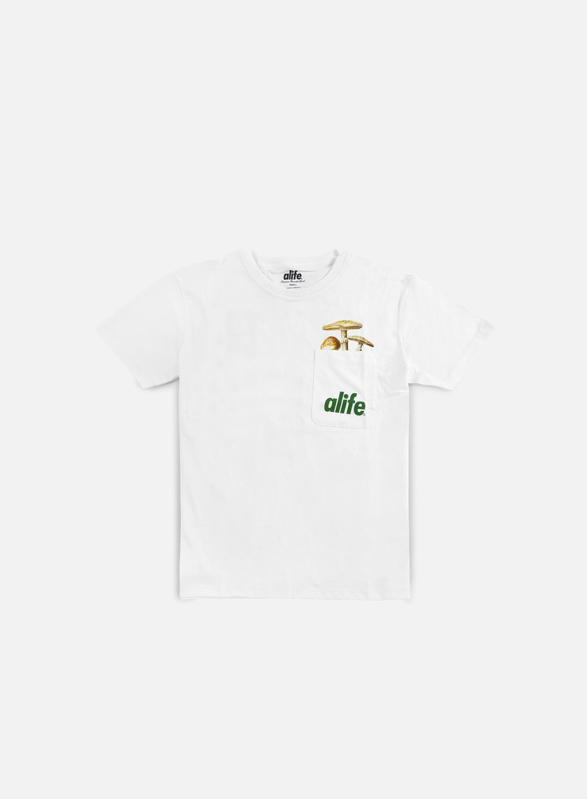 Alife - Patch Pocket T-shirt, White