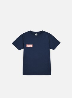 Alife - Small Stuck Up T-shirt, Navy 1