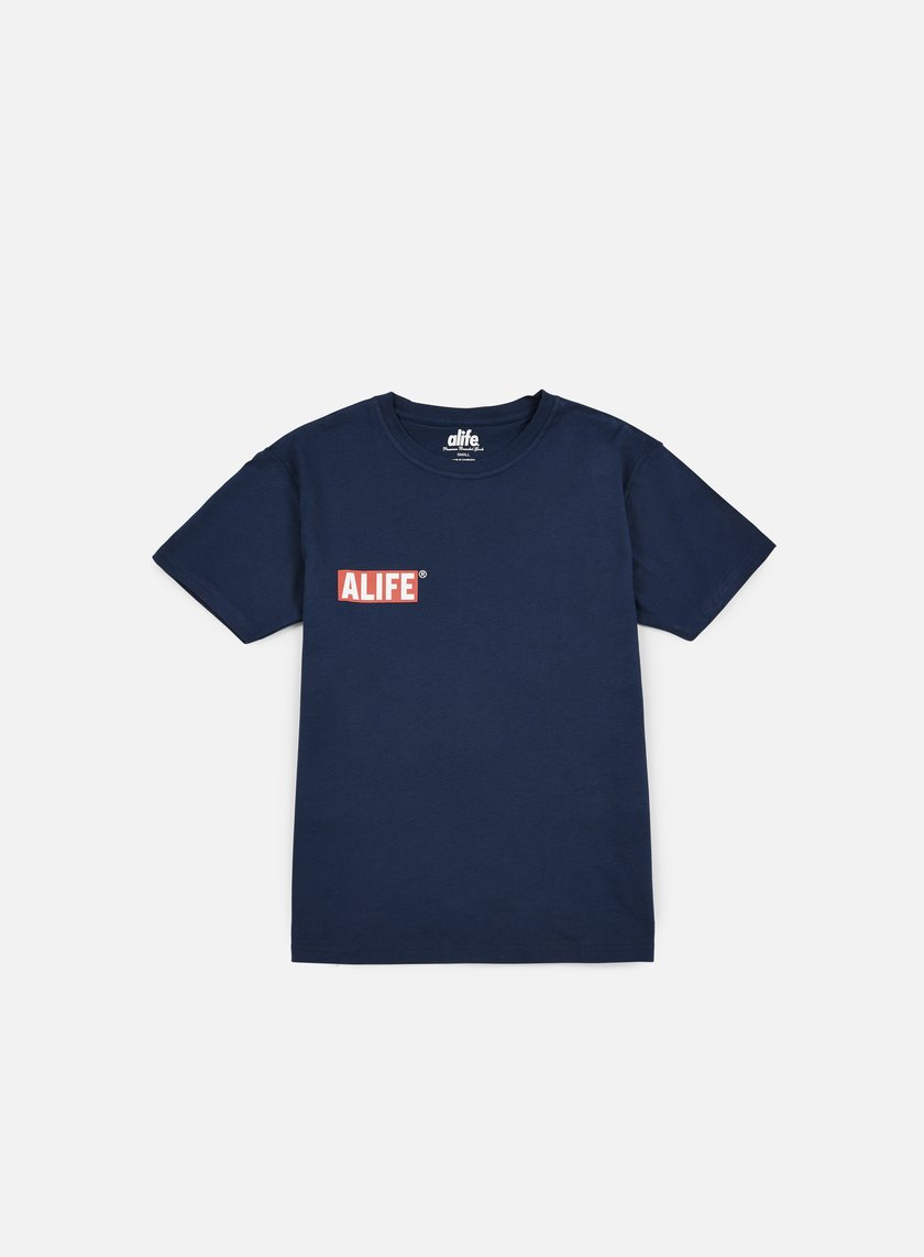 Alife - Small Stuck Up T-shirt, Navy