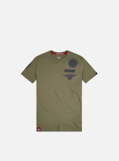 Sale Outlet Short sleeve T-shirts Alpha Industries Air Crew T-shirt