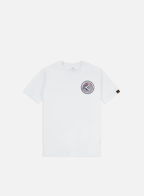 Outlet e Saldi T-shirt a Manica Corta Alpha Industries Apollo 15 T-shirt