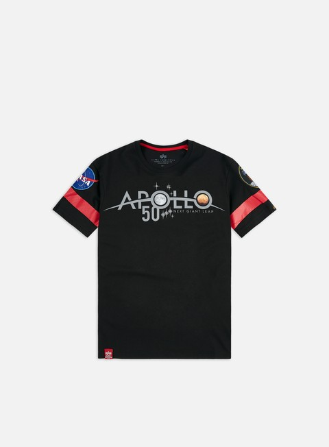 Outlet e Saldi T-shirt a Manica Corta Alpha Industries Apollo 50 Reflective T-shirt