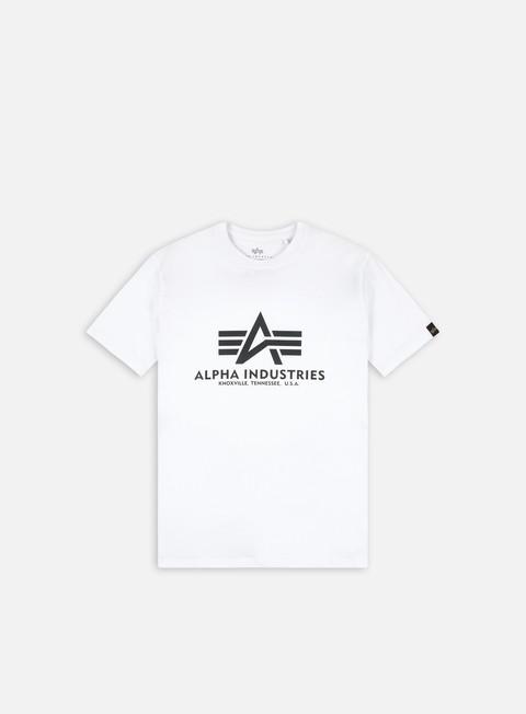 Sale Outlet Short sleeve T-shirts Alpha Industries Basic Rainbow Reflective Print T-shirt