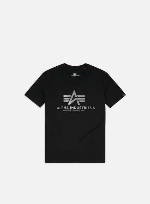 T-shirt a Manica Corta Alpha Industries Basic Reflective Print T-shirt