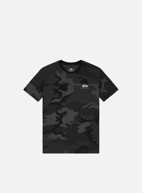 Alpha Industries Basic Small Logo Camo T-shirt