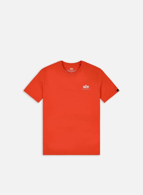 Sale Outlet Short sleeve T-shirts Alpha Industries Basic Small Logo T-shirt