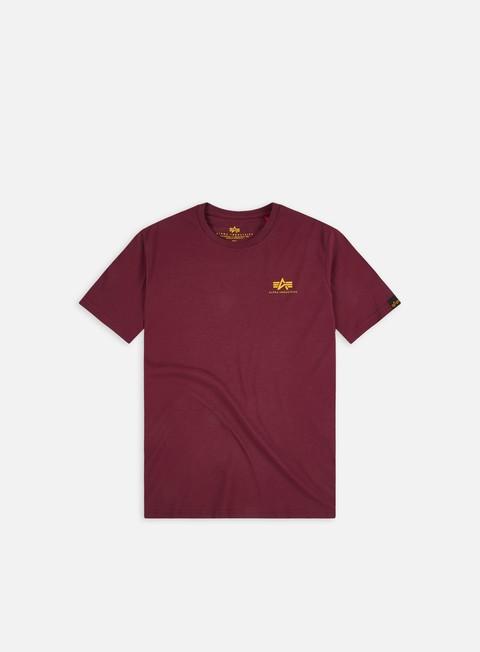 T-shirt a manica corta Alpha Industries Basic Small Logo T-shirt