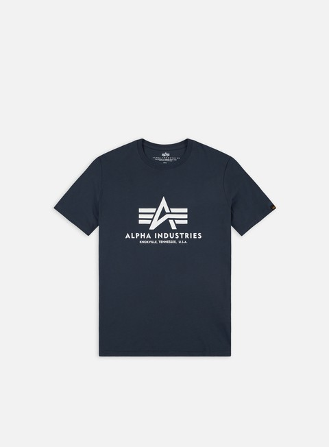 t shirt alpha industries basic t shirt navy