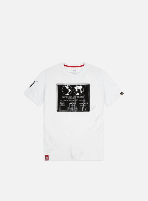 T-shirt a Manica Corta Alpha Industries Lunar Plaque T-shirt