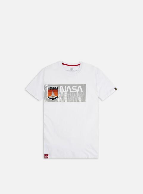 Sale Outlet Short sleeve T-shirts Alpha Industries Mars Reflective T-shirt