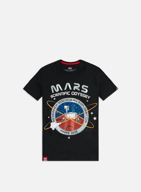 Sale Outlet Short sleeve T-shirts Alpha Industries Mission To Mars T-shirt