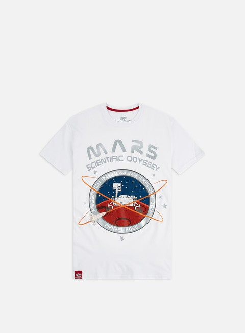 Outlet e Saldi T-shirt a Manica Corta Alpha Industries Mission To Mars T-shirt