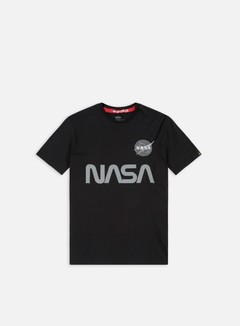 Alpha Industries - Nasa Reflective T-shirt, Black 1