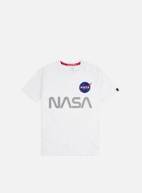 Sale Outlet Short sleeve T-shirts Alpha Industries Nasa Reflective T-shirt
