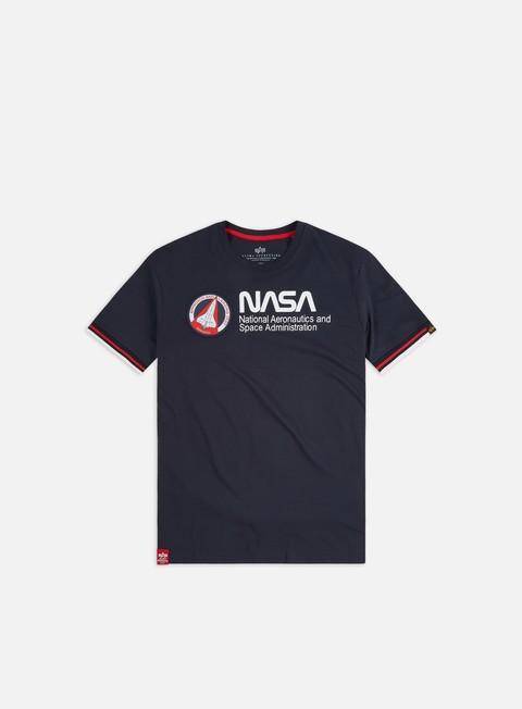 Sale Outlet Short sleeve T-shirts Alpha Industries NASA Retro T-shirt