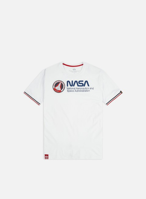 T-shirt a Manica Corta Alpha Industries NASA Retro T-shirt