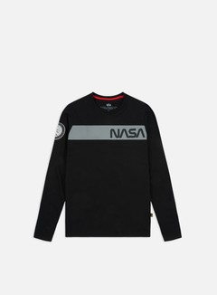Alpha Industries Nasa RS LS T-shirt