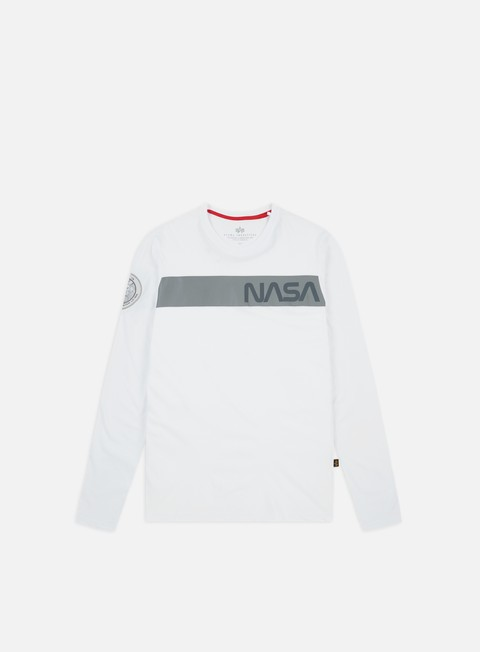 Sale Outlet Long sleeve T-shirts Alpha Industries Nasa RS LS T-shirt