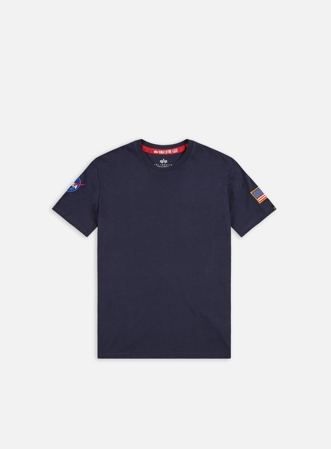 t shirt alpha industries nasa t shirt replica blue