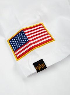 Alpha Industries - Nasa T-shirt, White 3