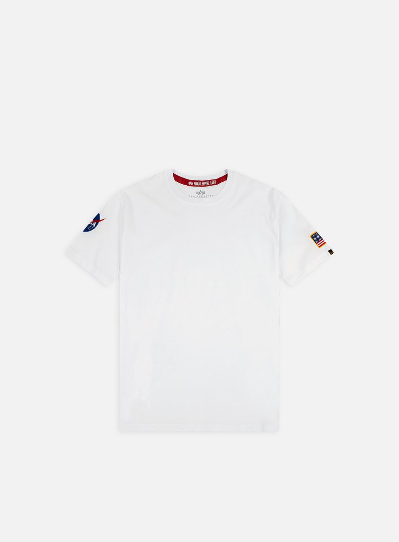 Alpha Industries - Nasa T-shirt, White