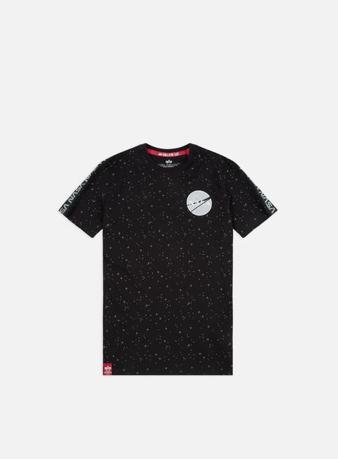 Sale Outlet Short sleeve T-shirts Alpha Industries Nasa Tape T-shirt