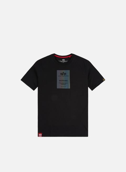 Alpha Industries Rainbow Reflective Label T-shirt