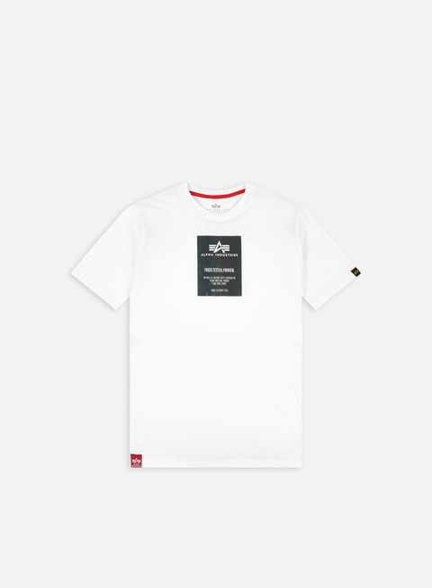 Short Sleeve T-shirts Alpha Industries Rainbow Reflective Label T-shirt