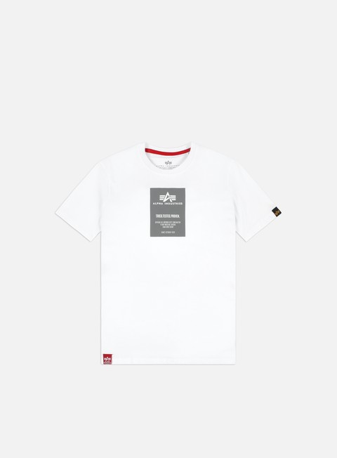 Alpha Industries Reflective Label T-shirt