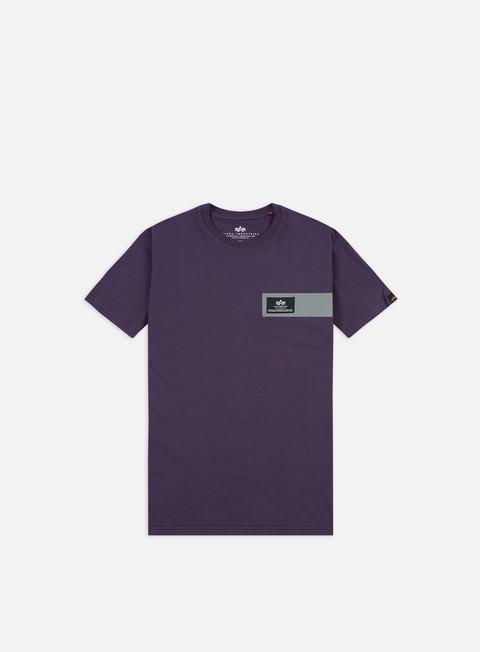 Sale Outlet Short sleeve T-shirts Alpha Industries Reflective Stripes T-shirt