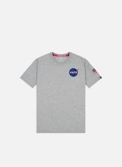 Alpha Industries - Space Shuttle T-shirt, Grey Heather