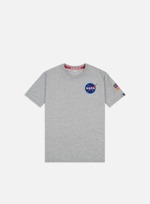 t shirt alpha industries space shuttle t shirt grey heather