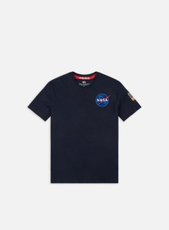 Alpha Industries - Space Shuttle T-shirt, Replica Blue