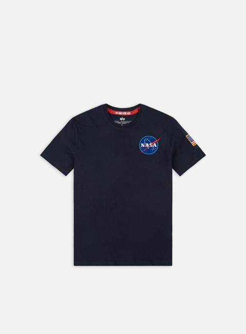 Outlet e Saldi T-shirt a Manica Corta Alpha Industries Space Shuttle T-shirt