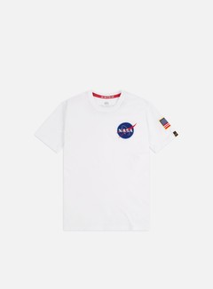 Alpha Industries - Space Shuttle T-shirt, White
