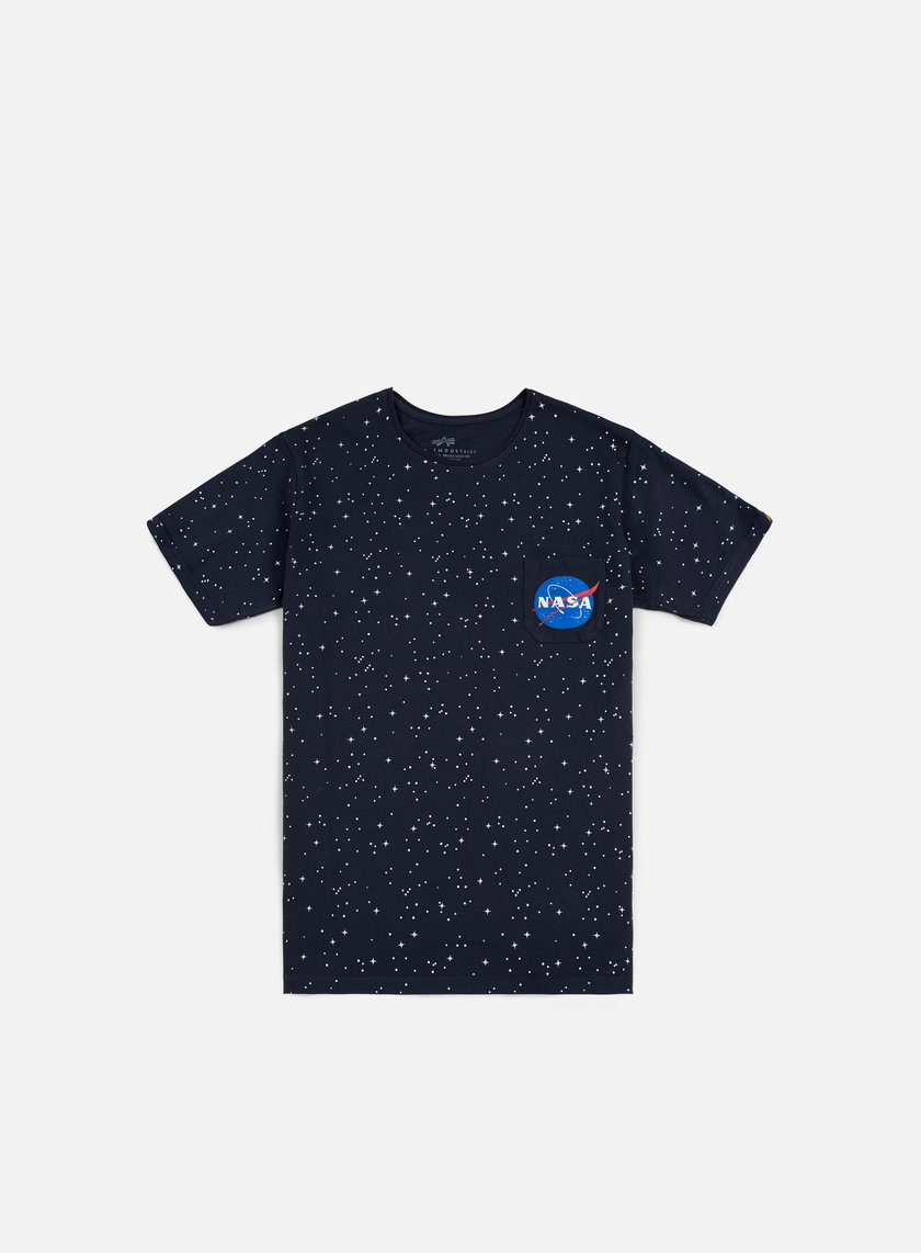 Alpha Industries - Starry T-shirt, Replica Blue