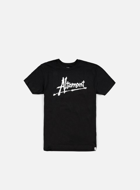 Outlet e Saldi T-shirt a Manica Corta Altamont Erik Brunetti Altamont Now T-shirt