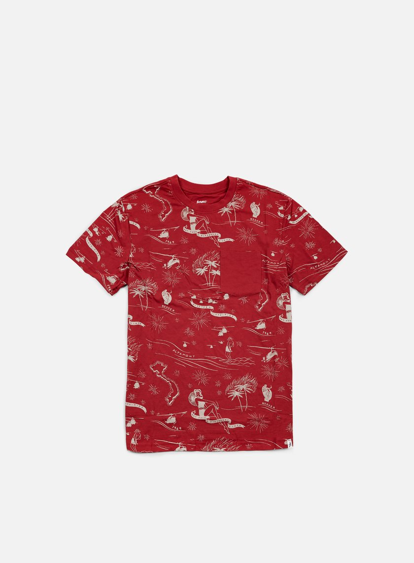 Altamont - Helloha Pocket T-shirt, Brick