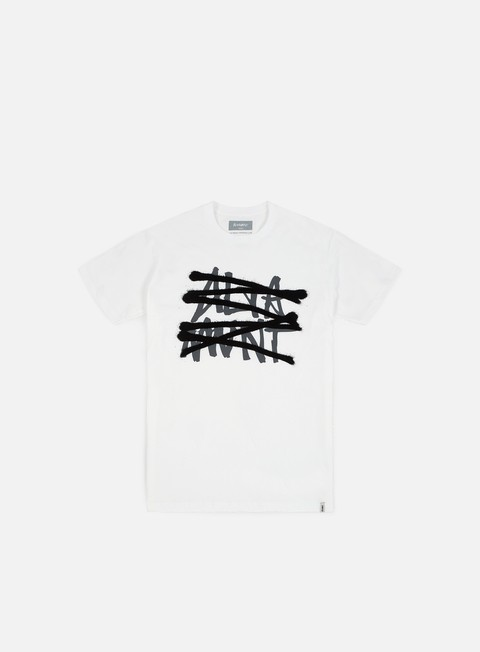 t shirt altamont no logo t shirt white
