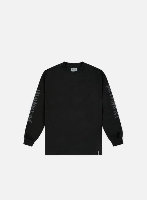 t shirt altamont one liner ls t shirt black
