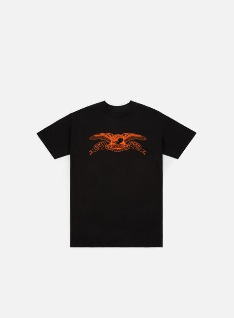 t shirt antihero basic eagle t shirt black orange