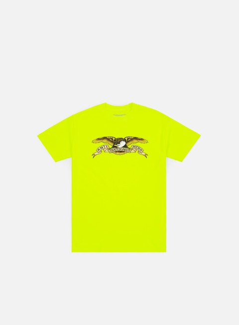 t shirt antihero eagle t shirt safety green