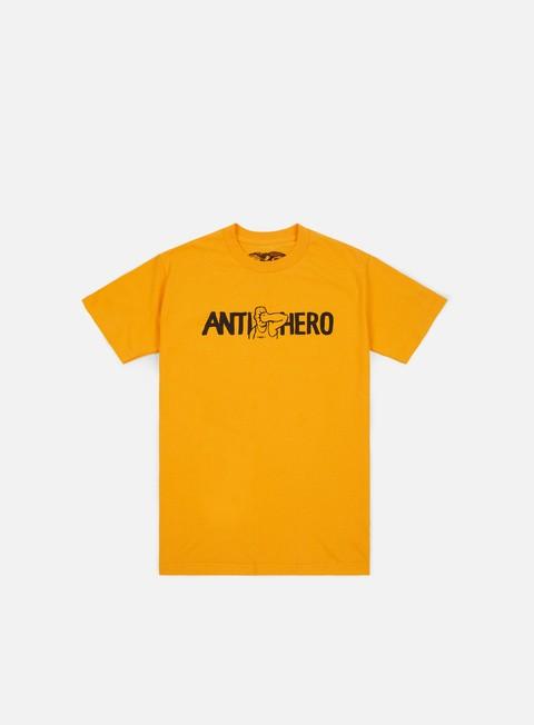 t shirt antihero face punch t shirt gold