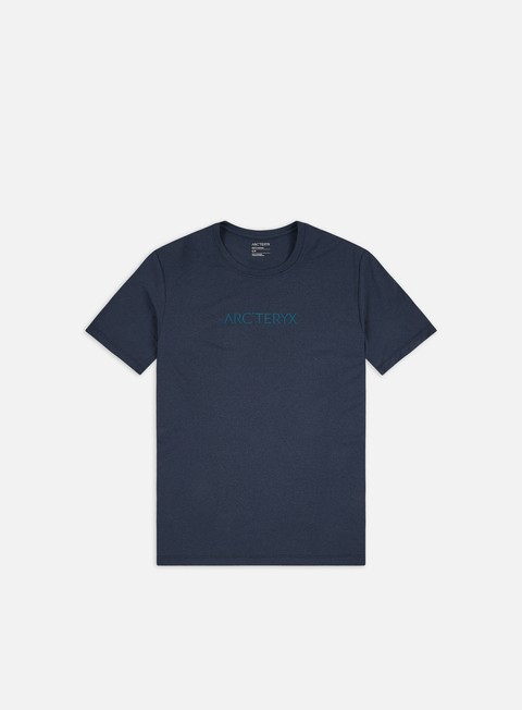 Outlet e Saldi T-shirt a Manica Corta Arc'Teryx Remige Word T-shirt