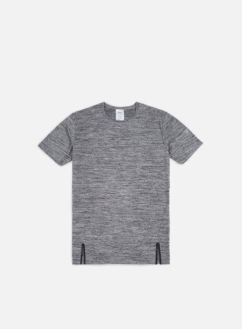 t shirt asics heather t shirt charcoal grey heather