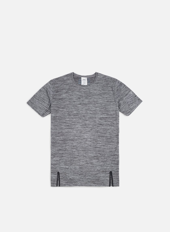 Asics - Heather T-shirt, Charcoal Grey Heather
