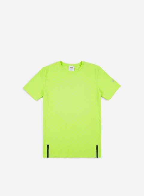 t shirt asics seamless performance t shirt energy green