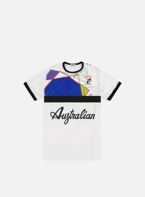 Outlet e Saldi T-shirt a Manica Corta Australian Ace T-shirt